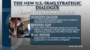 صورة The New Strategic Dialogue: Shaping the Iraqi-U.S. Relationship